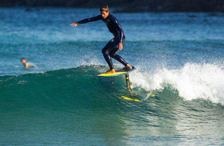 how to foil surf