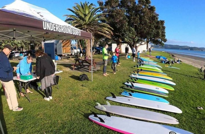 beginner surf demo evenings